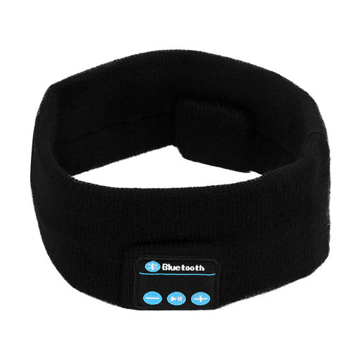 Wireless Bluetooth Fiber music Headband Headset Sleep Sports headpiece headkerchief Running yoga Gym headphone for Phone