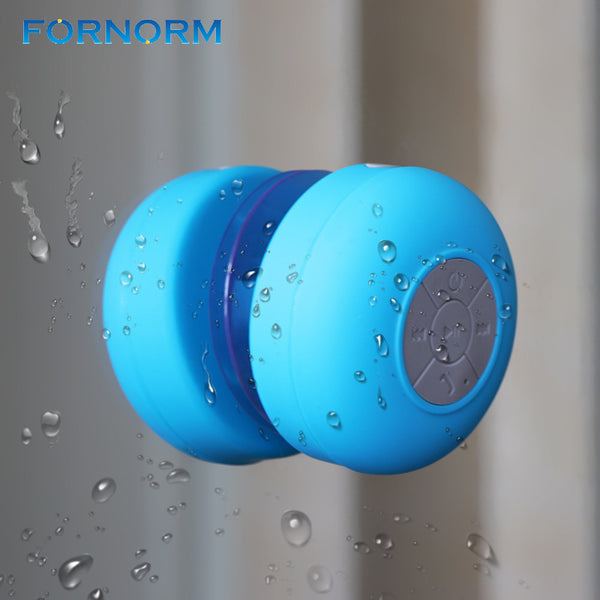 FORNORM Bluetooth Speaker Portable Mini Wireless Waterproof Shower Speaker for Phone MP3 Receiver Hand Free Car Speaker