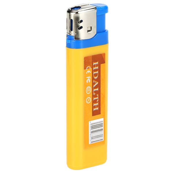 Hidden Security Camera Lighter- Records to a Memory SD Card with USB rechargeable battery- Keep your Eye on your Stuff!