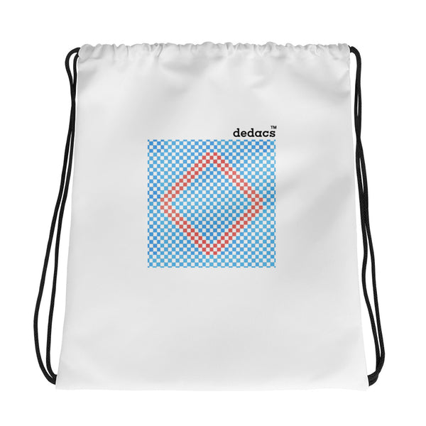 Checkered Drawstring Bag - dedacs