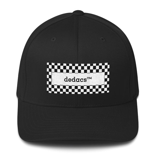 checkered design dedacs hat - dedacs