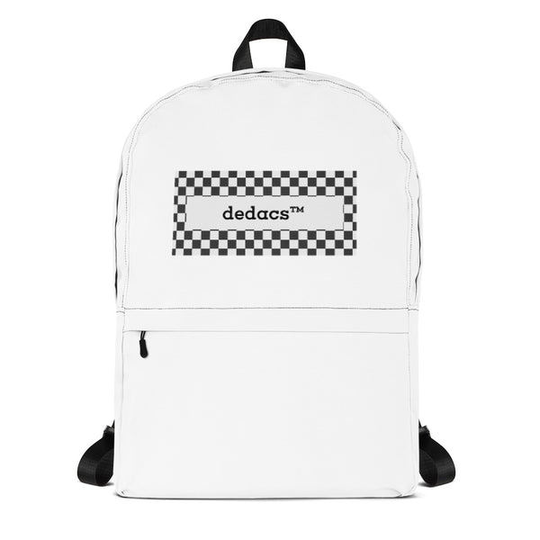 dedacs prime backpack (white) - dedacs