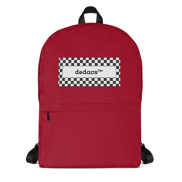 dedacs prime backpack (red) - dedacs