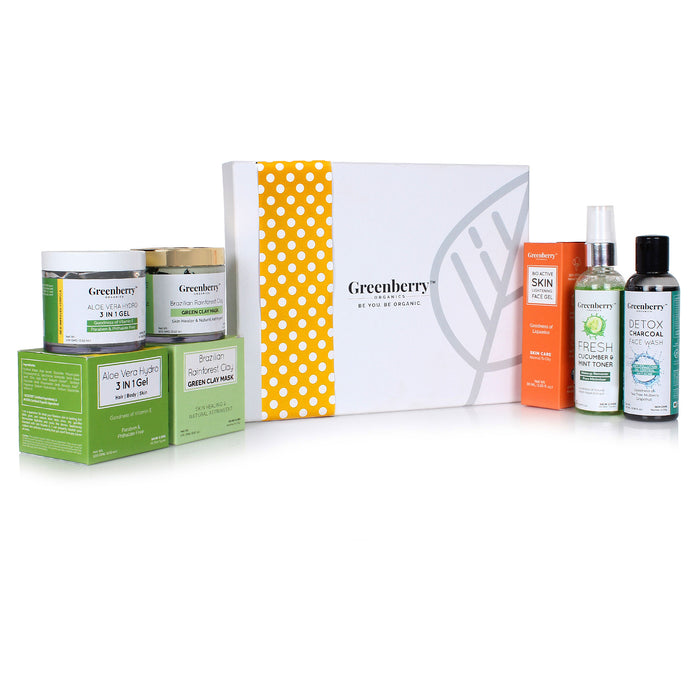 Oily Skin Essential Kit - Greenberry Organics