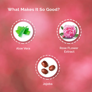 Rose & Jojoba Oil Face Wash - SC - Greenberry Organics