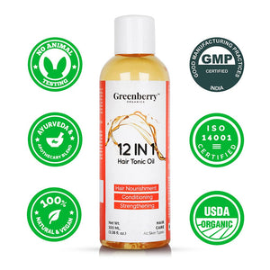 12 in 1 Hair Tonic Oil - Greenberry Organics