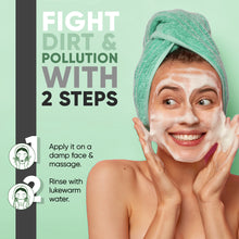 Detox Charcoal Face Wash for Anti Acne, Pollution & Oil Control - New - 120 ML - Greenberry Organics