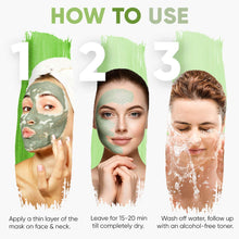 Greenberry Organics Brazilian Rainforest Green Clay Mask | Skin Healer and Natural Astringent | Normal to Oily Skin (50 GMS)-Pack of 05