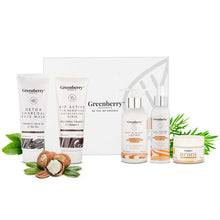 Greenberry Organics Sun Defense Box with 5 Full Size Products, Protects from UVA/UVB Rays, Upto SPF 40+, Tan Protection, Anti - Pollution, Set of 5 Products, (All Skin Types) - Greenberry Organics