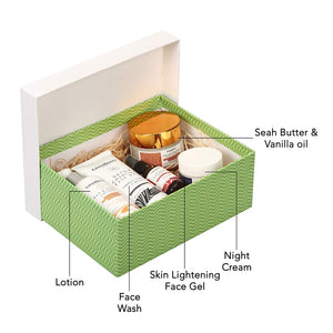 Greenberry Organics Perfect Clear Skin Box with 5 Full Size Product (All Skin Types) - Greenberry Organics