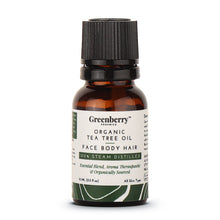 Organic Tea Tree Oil  - 15 ML for Acne Control, Dandruff Control & Daily Use