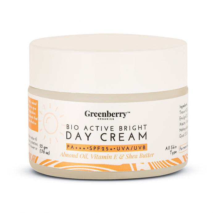 Bio Active Bright Day Cream SPF 25+ PA+++ UVA/UVB Protection