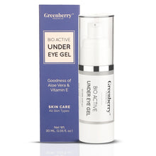 Bio Active Under Eye Gel for Under Eye Dark Circles & Puffiness - Greenberry Organics