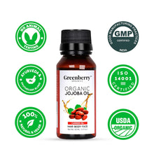 Organic Jojoba Oil - Greenberry Organics