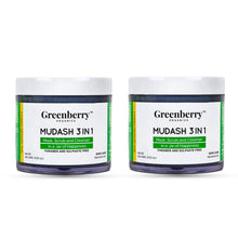 Mudash 3 In 1 - Pack of 2 - Greenberry Organics
