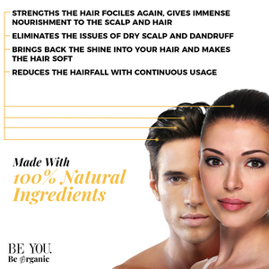 Argan, Biotin & Shea Butter Hair Mask for Shiny, Longer Hair & Healthy Scalp