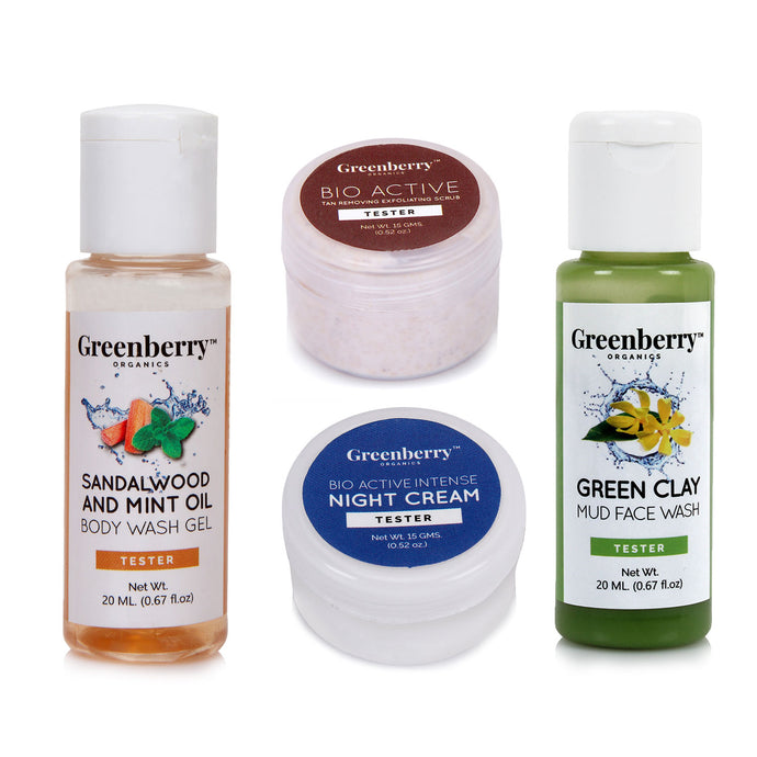Healthy Skin Essential Kit - Greenberry Organics