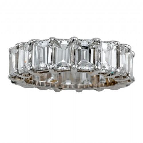Emerald Cut Eternty