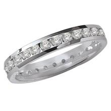 Channel Set Eternity Ring