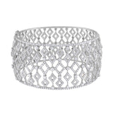 Falling Diamonds cuff bracelet
