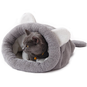 Sac de couchage Chat - Gris - Le chat Mallow