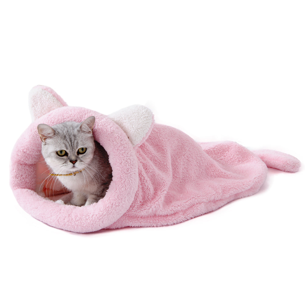 Sac de couchage Chat - Rose - Le chat Mallow