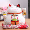Tirelire Maneki Neko en porcelaine:F:La Fun Boutique