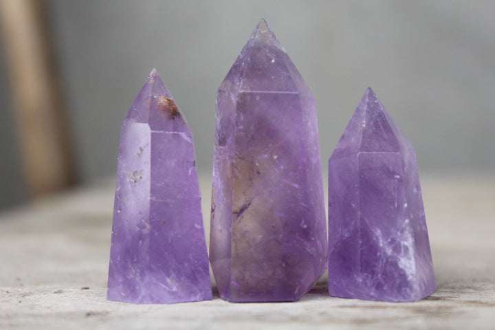 "Amethyst Wands 1-3"" in length (3 PACK)"