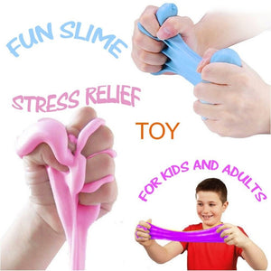 3D Fluffy Foam Clay Slime DIY Soft Cotton Slime Ball  Craft Toy Antistress Kids Toys for Children