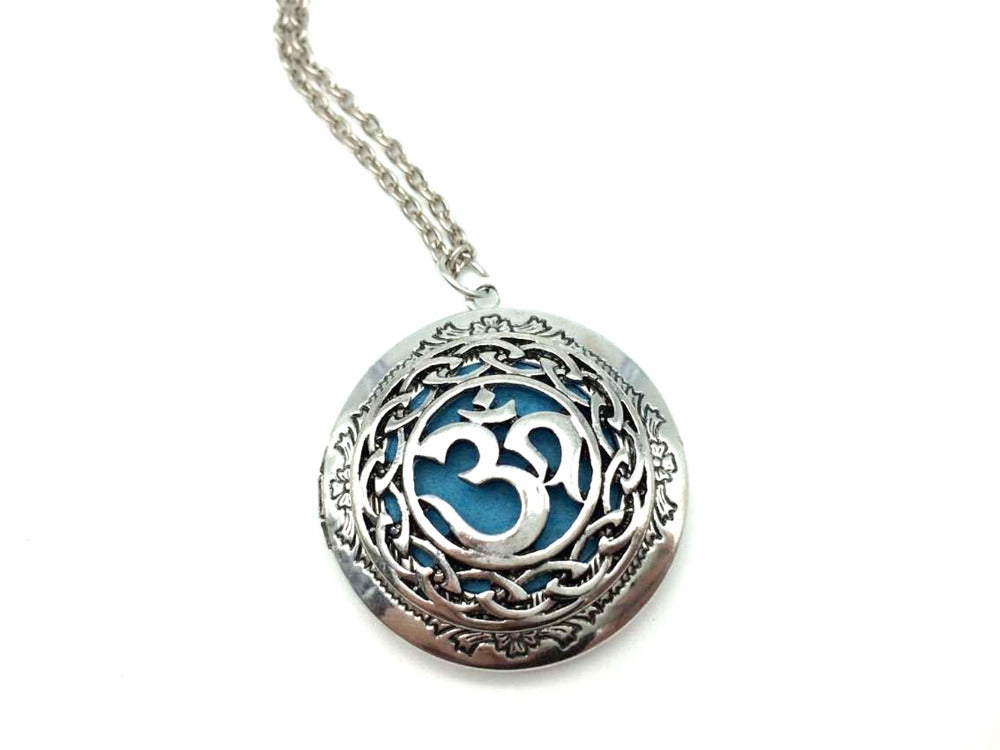 Yoga Oil Diffuser Necklace