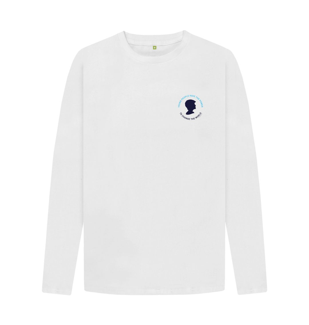 White Diana Long Sleeve Tee (Unisex)