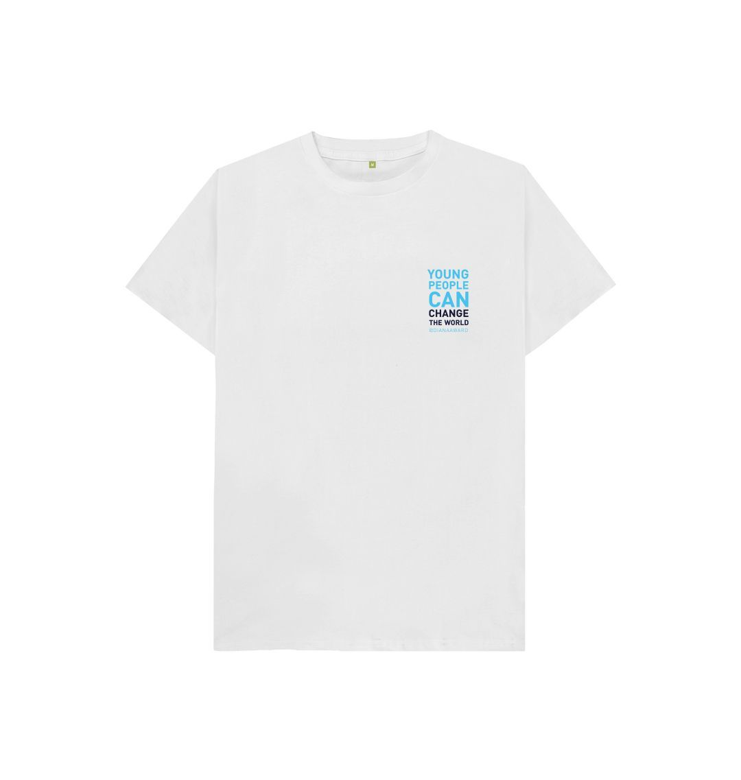 White Change the World Tee (Kids)