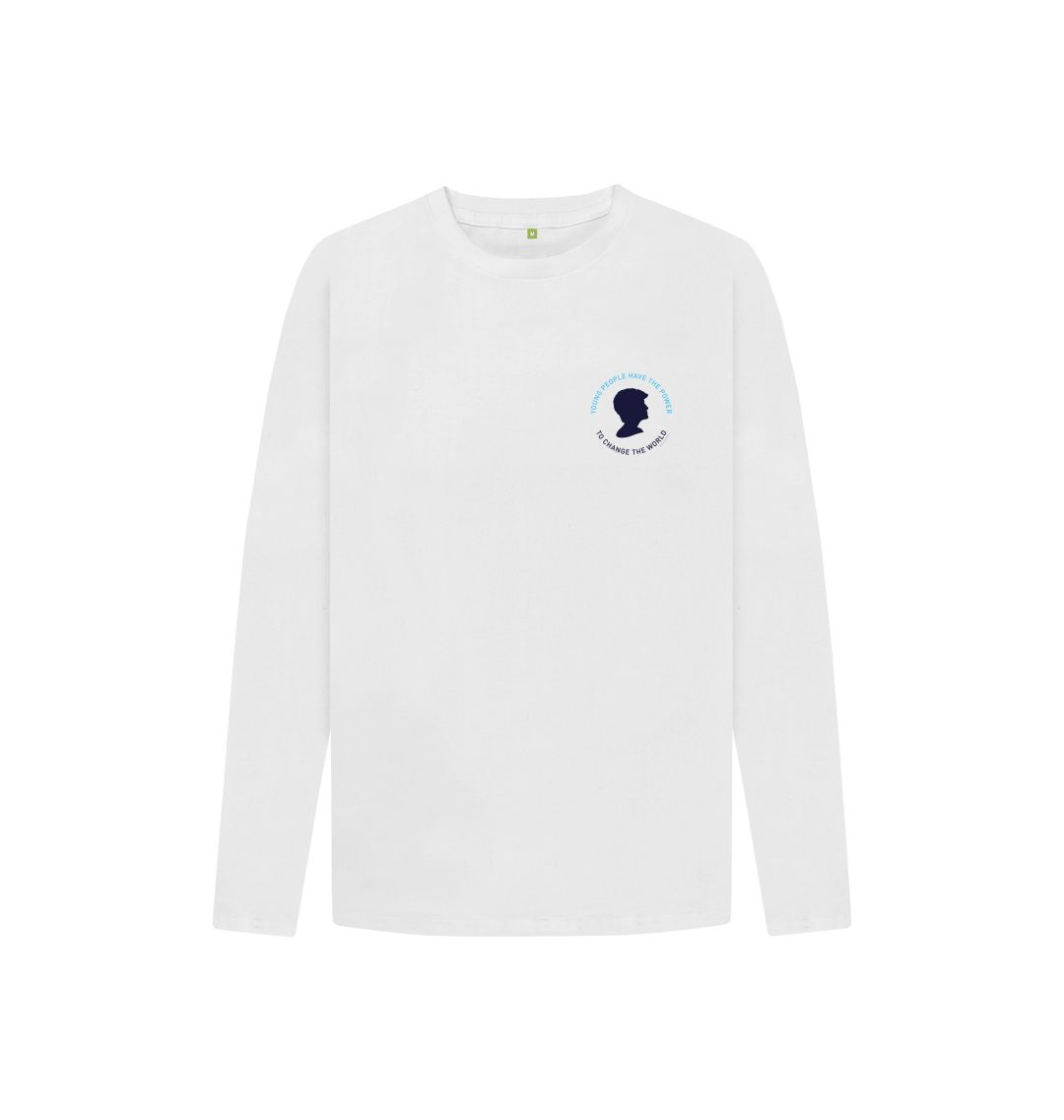 White Diana Long Sleeve Tee (Kids)