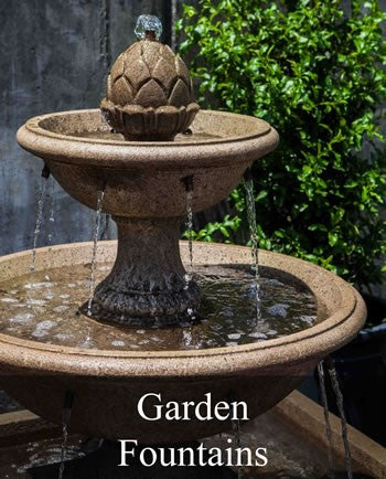 Garden Fountains: Outdoor Water Fountains, Wall Fountains (And Decor ...