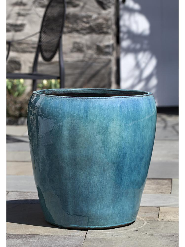 Ellesmere Planter - Set of 3 in Aqua