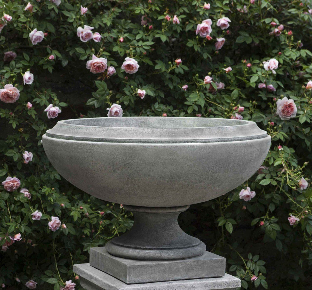 Set of 2 Jensen Large Urns with FREE Plants
