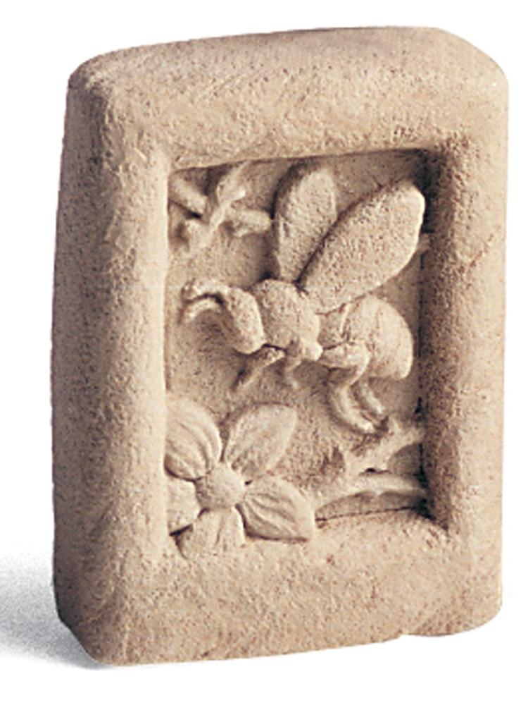 Mini Honey Bee Garden Stone