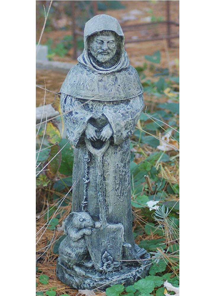 Saint Fiacre with Rabbit