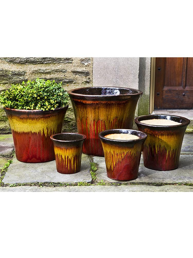 Delphine Planter Set of 5 in Sierra