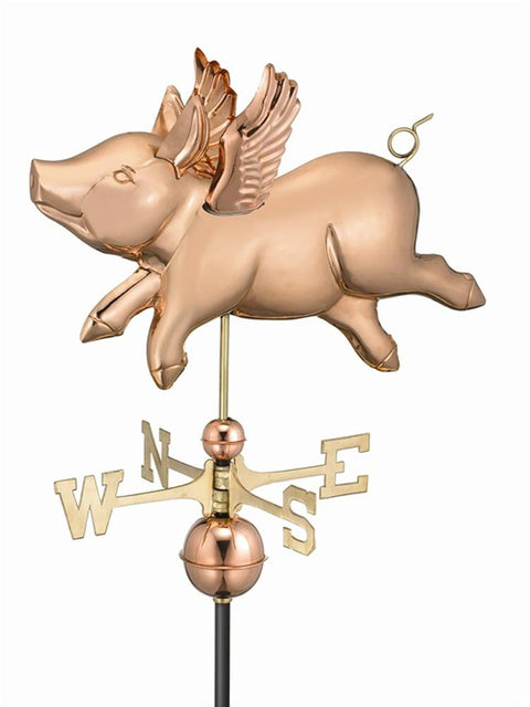 When Pigs Fly Standard Weather Vane