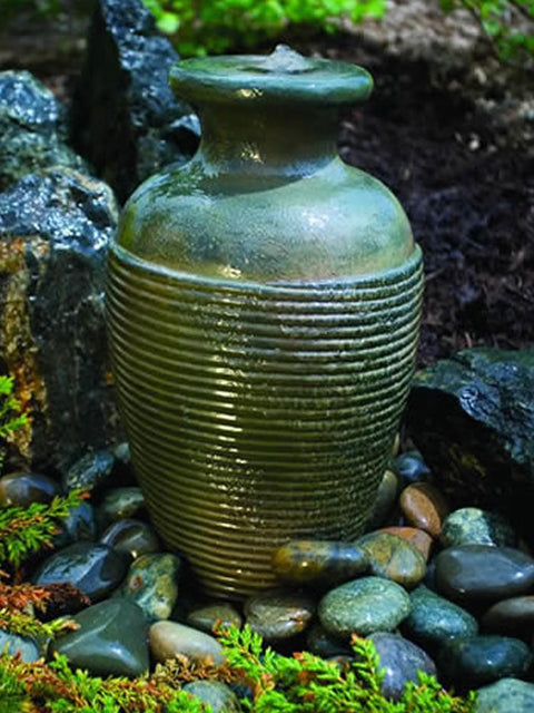 Rippled Vase Fountain