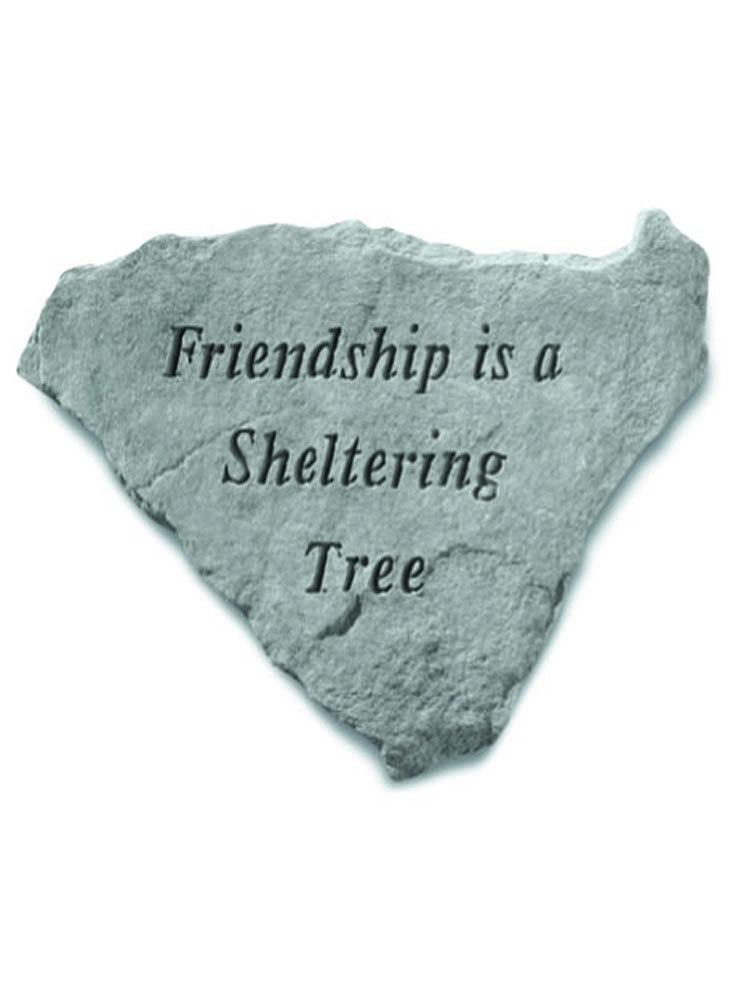 Friendship is a Sheltering Tree Stone Plaque