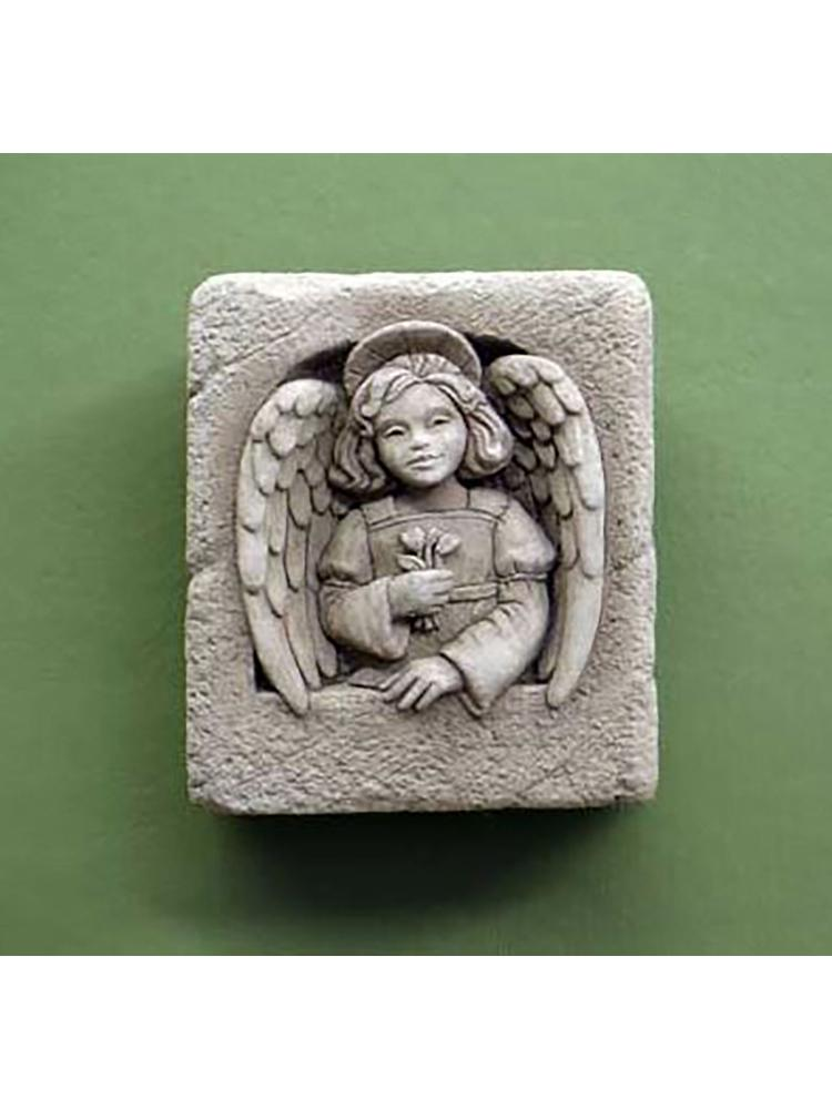 Mini Angel Garden Stone/Plaque