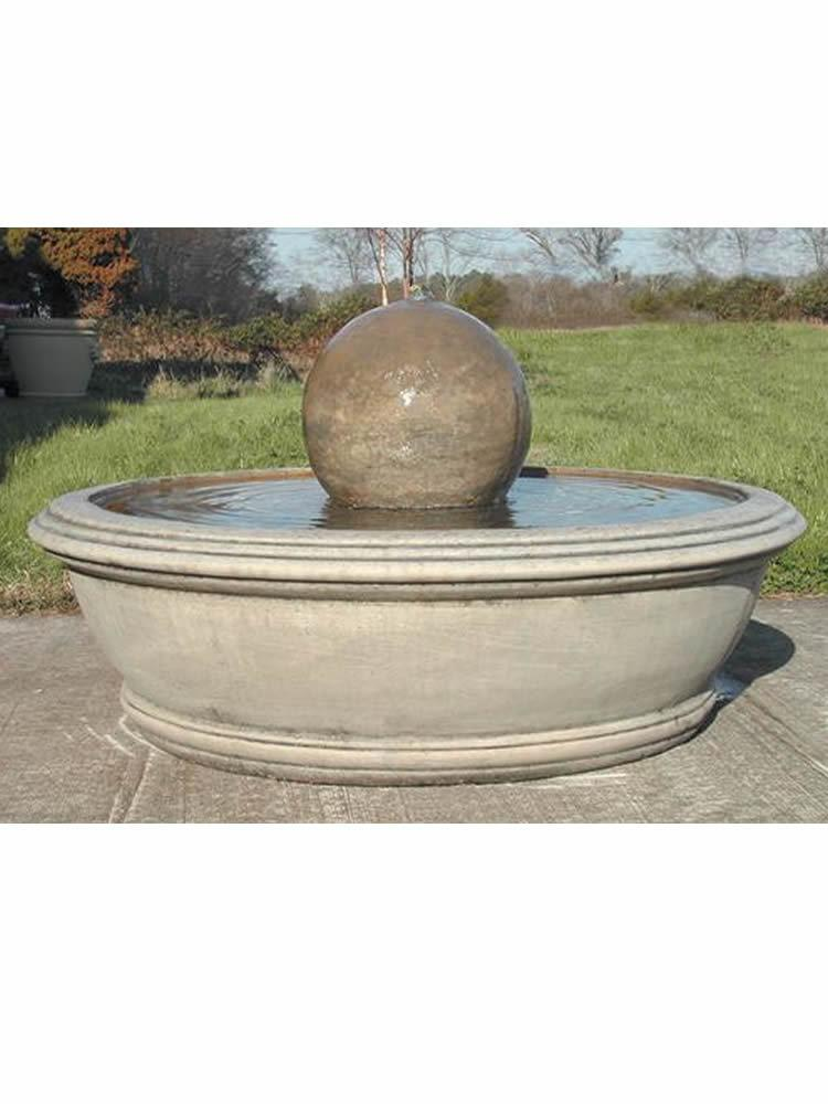 The Anderson Fountain with Sphere