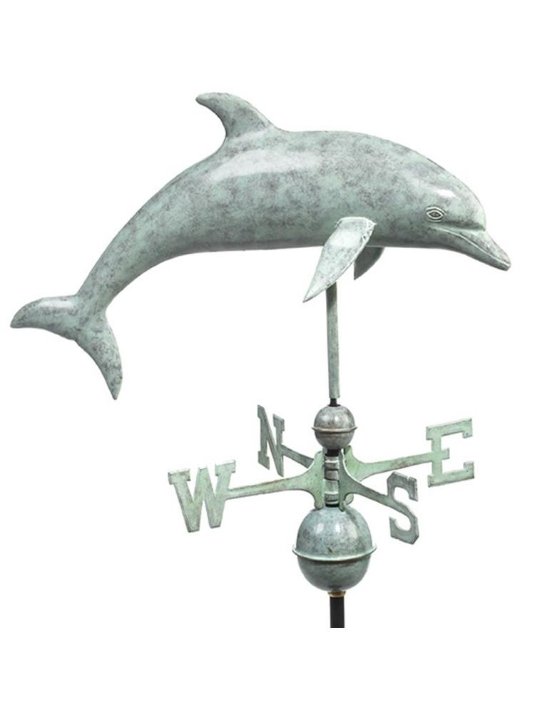 Leaping Dolphin Standard Weather Vane