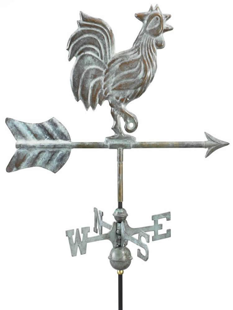Wake Up Call Garden Weather Vane