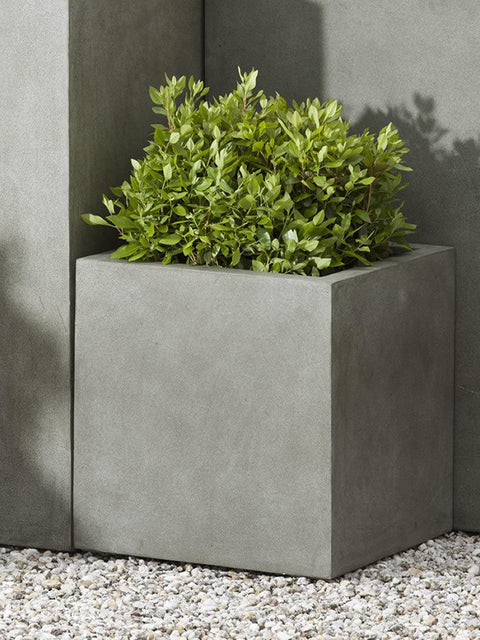 Modular Lite Planter 1 in Concrete Lite
