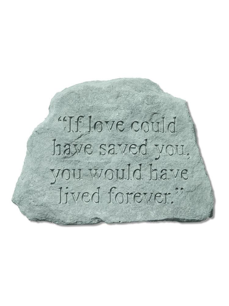 If Love Could Have Saved You Stone/Plaque