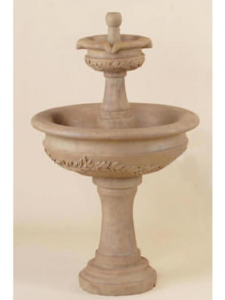 Alloro Garland Two Tier Fountain