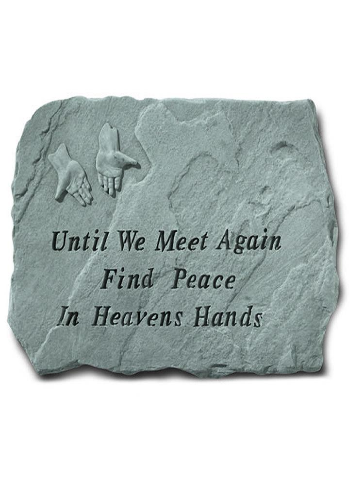 Until We Meet Again Stone Plaque